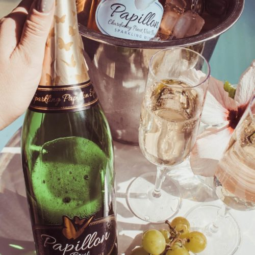 Papillon Sparkling Wine has an alcohol FREE version too!