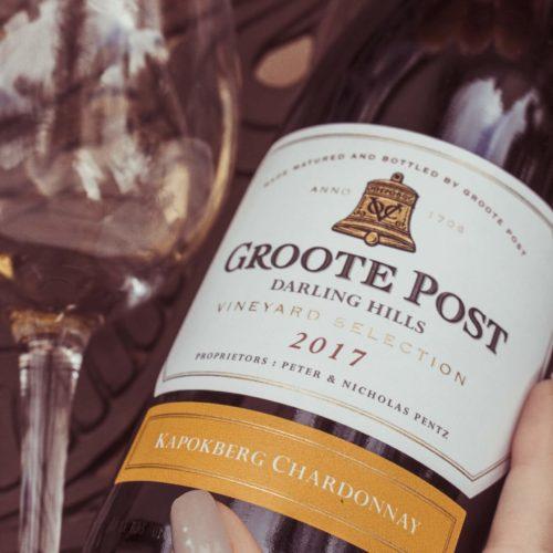 Groote Post Kapokberg Chardonnay 2017 (Wooded)