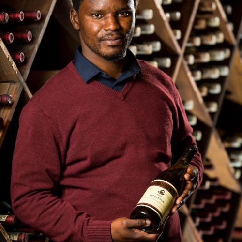 New! Zonnebloem white winemaker Dumisani Mathonsi