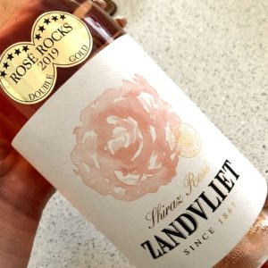 I'm in love with this new Shiraz Rosé by Zandvliet