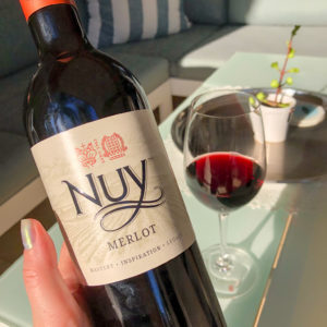 Nuy Winery Merlot 2018 is a Delicious Everyday Wine